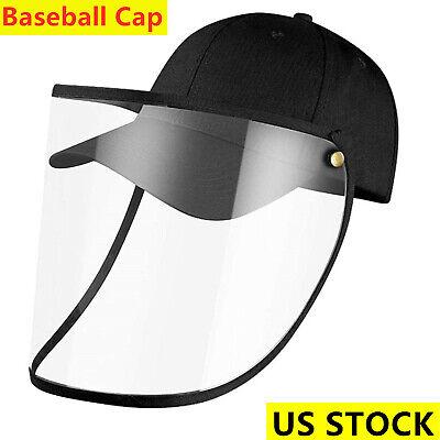 Anti-Saliva Baseball Cap Protective Hat Anti Spitting Full Face Mask Shield