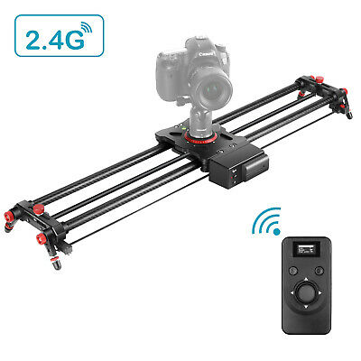 Motorized Camera Slider 2.4G Wireless Control Carbon Fiber Track Rail