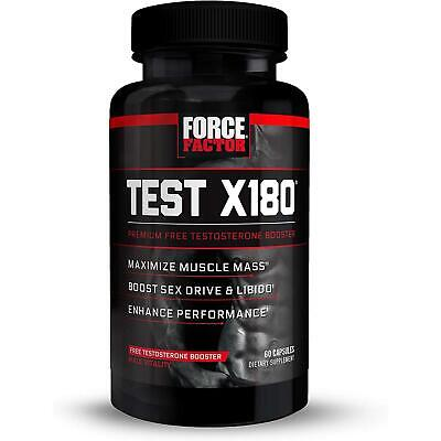 Force Factor FFS-TST060XX-FG Test X180 Ignite - 60 Capsules