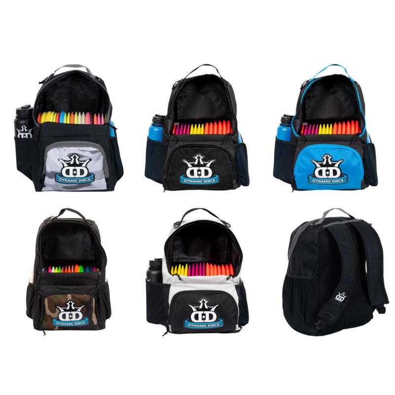 Dynamic Discs Disc Golf Bag Cadet Backpack Bag (Choose Color) Holds 17+ Discs