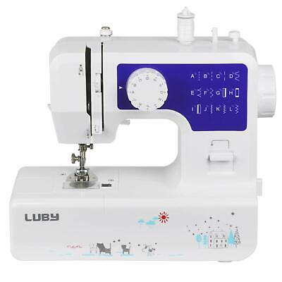 Luby Portable Sewing Machine Double Thread Free Arm Best for Beginner
