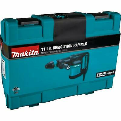 Makita Corded Sds-max 11lbs Variable Speed Demolition 10 Amp Hammer Whard Case