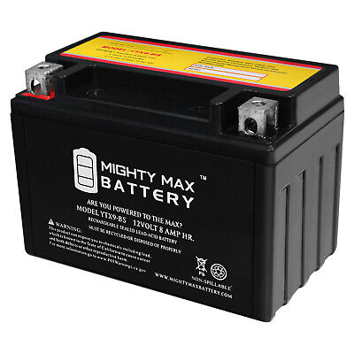 Mighty Max YTX9-BS SLA Battery for EverStart ES9BS