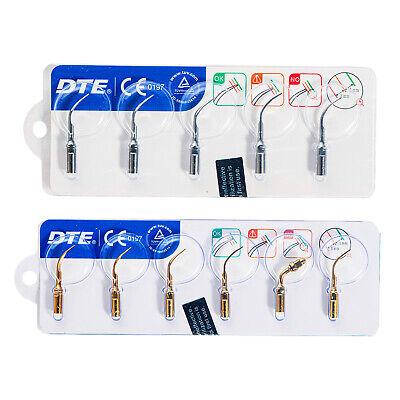 Woodpecker Dental Ultrasonic Piezo Scaler Tips Set Fit Dte D1d5 Led Handpiece