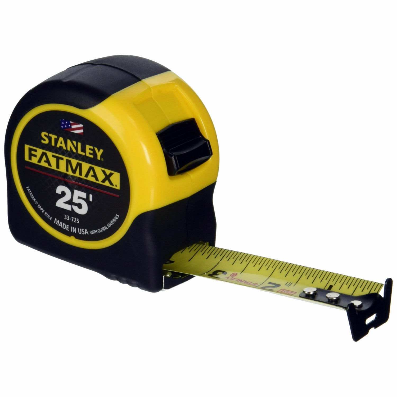 STANLEY FATMAX 25' TAPE MEASURE 33-725 BRAND NEW