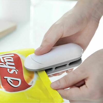 2in1 Sealercutter Portable Resealer Heat Sealing Machine Mini Plastic Snack Bag