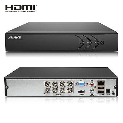 1080N 8 Kanal DVR System Recorder Kit H.264 Videoüberwachung HDMI P2P AHD CCTV