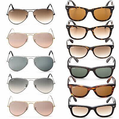 Ray Ban Unisex Sonnenbrille Pilotenbrille Aviator Wayfarer Damen Herren  Sommer