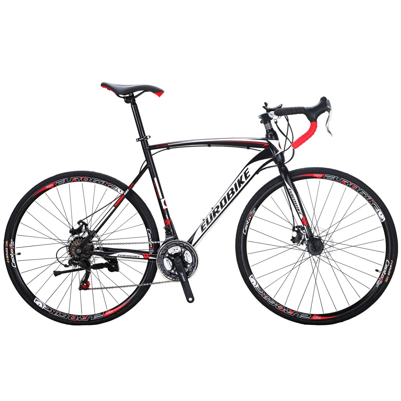 Road Bike 21 Speed Mens Bikes 700C wheels Bicycle Disc Brake
