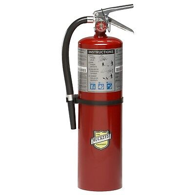 Buckeye 11340 Abc Multipurpose Dry Chemical Hand Held Fire Extinguisher With ...