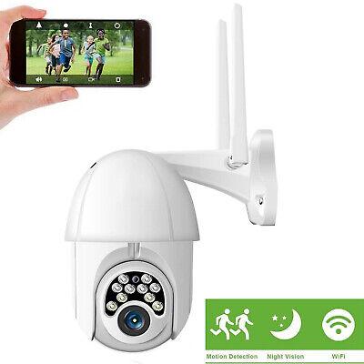 Camara De Seguridad WIFI Inalambrica 360° Para Casa Exterior HD 1080P Con Audio