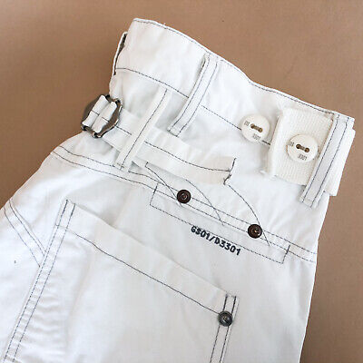 GStar Jeans Storm Elwood White Loose Cargo Vintage Men's (LabelW30L34) W 30 L 33 for sale  Shipping to Ireland