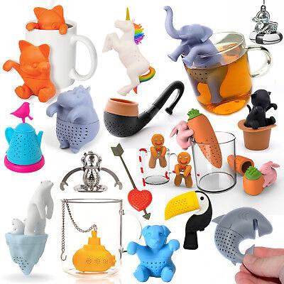 *XXL Auswahl* Lustige Teesiebe Elefant Einhorn Katze Herz witzig Teeei Geschenk