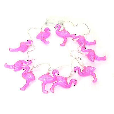 Lichterkette Flamingo in pink Partybeleuchtung Pink Tropisch Party Deko