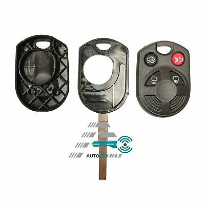 Keyless Entry Remote Car Secure Key Fob Shell Case Cover for Ford Escape Focus