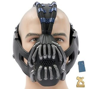Bane mask ebay bane mask cosplay adult costume for halloween party newest gun with voice change solutioingenieria Choice Image
