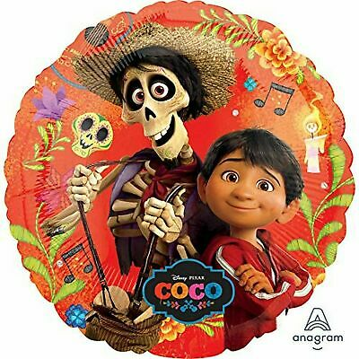 Disney Coco Miguel Hector Birthday Party Decorations Mylar Foil Balloon 18
