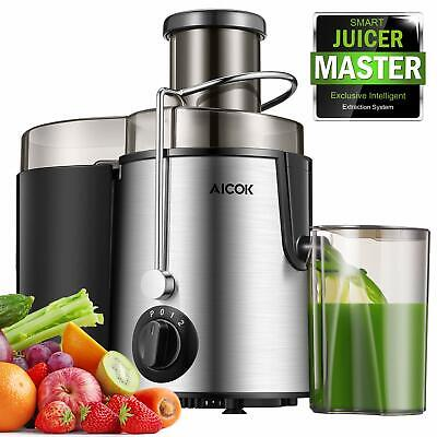 """Juicer Centrifugal Juicer Machine Far-reaching 3"""" Feed Chute Juice Extractor Easy to Cle"""