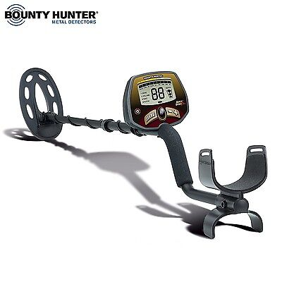 Bounty Hunter Quick Draw Pro Metal Detector with Graphic Target Depth Indicator