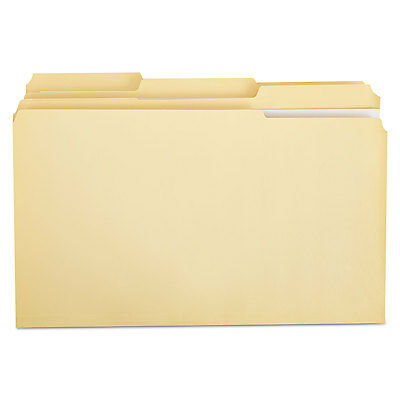 Universal File Folders 13 Cut Assorted Two-ply Top Tab Legal Manila 100box