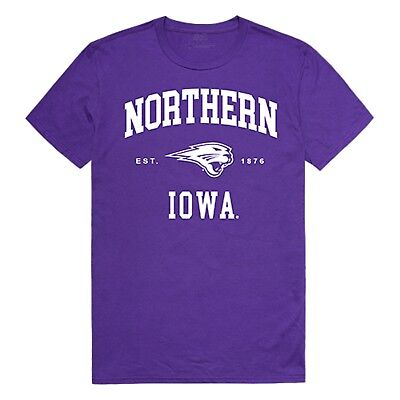 University of Northern Iowa Panthers NCAA Logo Licensed T-Shirt S-2XL ()
