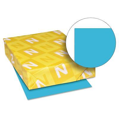 Neenah Paper 22521 Color Paper 24lb 8 12 X 11 Lunar Blue 500 Sheets