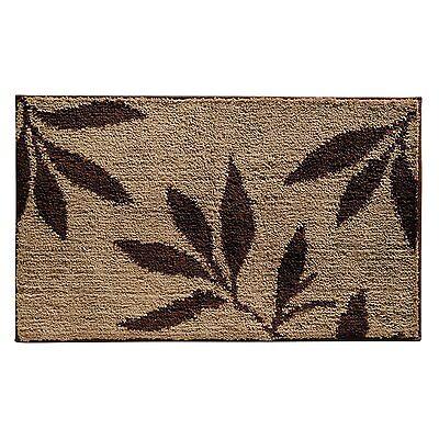 New Modern Leaf Leaves Bath Bathroom Shower Floor Rug Mat Carpet Free Shipping Leaves Bath Rug