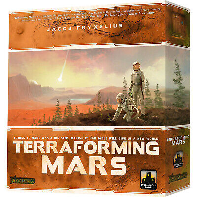Terraforming Mars Strategy Interactive Board Game Stronghold Games