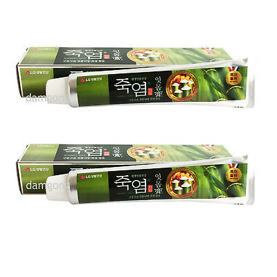 140g x 2 LG Oriental dentist Bamboo Salt Toothpaste Organic Herbal therapy