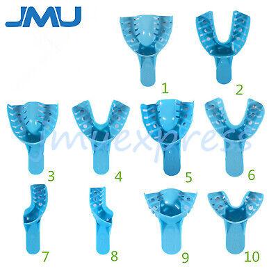 Jmu Dental Disposable Perforated Plastic Impression Trays Orthodontic 12pcsbag