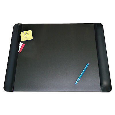 Artistic Executive Desk Pad With Leather-like Side Panels 24 X 19 Black 413841