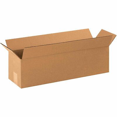22 X 6 X 6 Long Cardboard Corrugated Boxes 65 Lbs Capacity 200ect-32 Lot