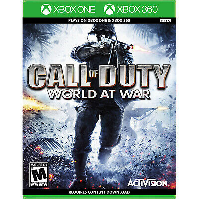 Call of Duty: World at War (Backwards Compatible) Xbox 360 [Brand New]