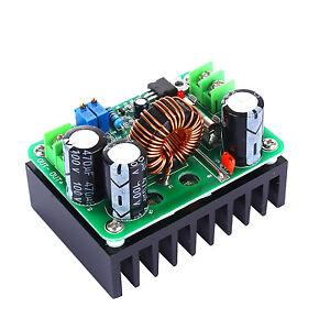 600W DC 10-60V auf 12-80V Boost Spannungswandler Voltage Converter Step Up Modul