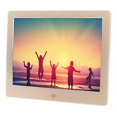 """8"""" Digital Photo Frame Electronic Picture Frame Video/Audio Player LED Display"""
