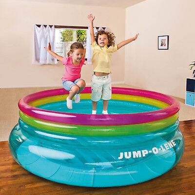 Intex Hüpfburg Pool Kinder Rutsche Schaukel Spielhaus Trampolin Springburg 48267