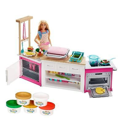 Barbie Careers & Places Ultimate Kitchen Playset & Doll