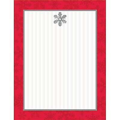 Sparkling Snowflake Christmas Laser Paper Holiday Letter Crafting Menu 340 pages (Cherry Letter Laser Paper)