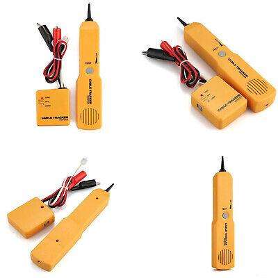 Telephone Cable Wire Network Tracker Finder Tester Sender Receiver Kit Tone