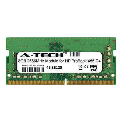 A-Tech 8GB 2666MHz DDR4 RAM for HP ProBook 455 G4 Laptop Notebook Memory - Memory Upgrades Notebook Ram