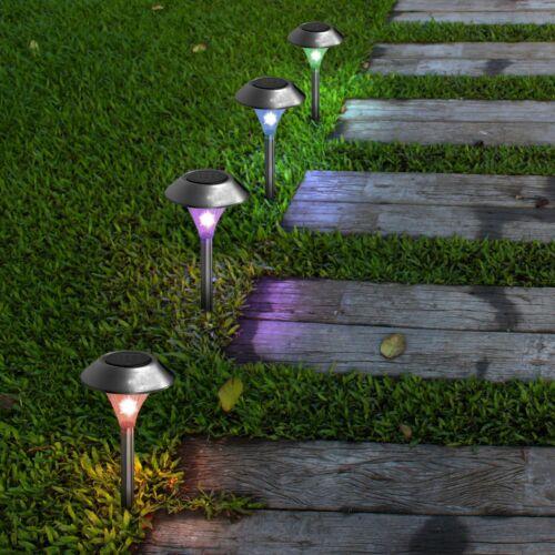 12xLED Solar Powered Light Outdoor Yard Lights Garden Security Wall Fence Gutter