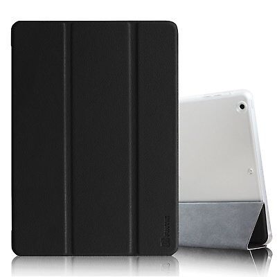 For iPad Air 1st Gen PU Leather Smart Slim Case Shell Cover W/ Auto Wake/Sleep