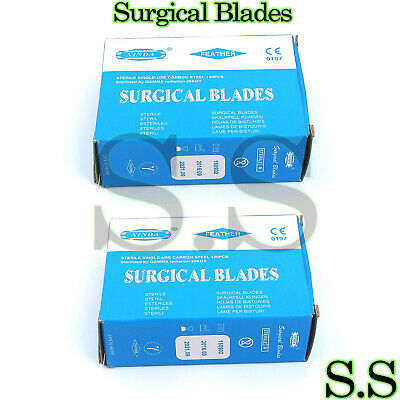 200 Surgical Scalpel Blades 15 Veterinary Instruments