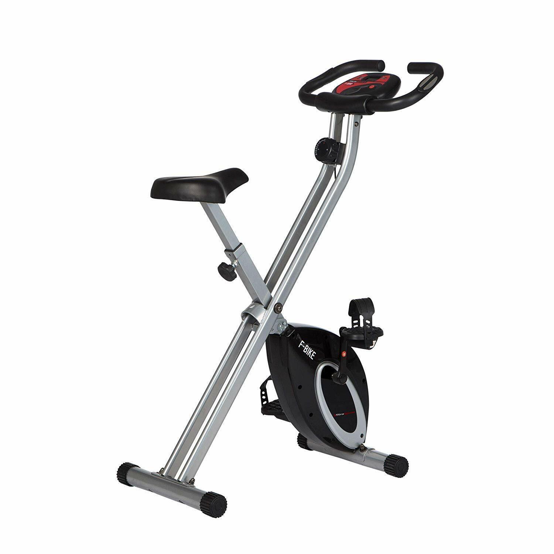 Heimtrainer Fitnessfahrrad Ergometer F-Bike Handpulssensoren Ultrasport B-Ware