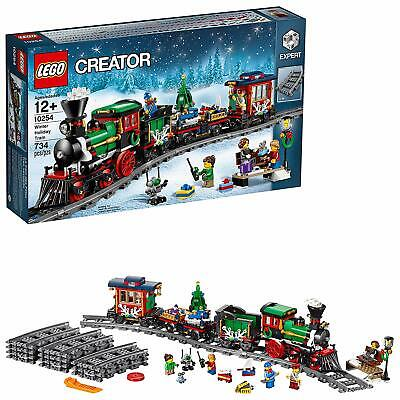 LEGO CREATOR Expert Winter Christmas Holiday Train 10254 Set 4 smart kids new !!