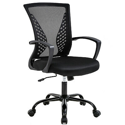Office Chair Ergonomic Desk Chair Mesh Computer Lumbar Rolling Swivel Adjustable