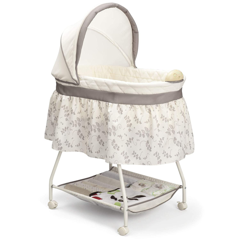 Infant Bed Side Crib Newborn Baby Bassinet Portable Sleeper