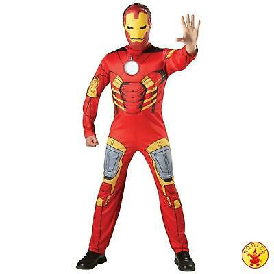 Rubie's 880945 IRON MAN Taglia M Costume Adulto Nuovo Marvel Uomo Muscoli EVA