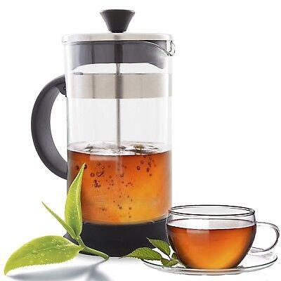 French Press Coffee, Tea & Espresso Maker -Heat Resistant Pot and Portable 1L