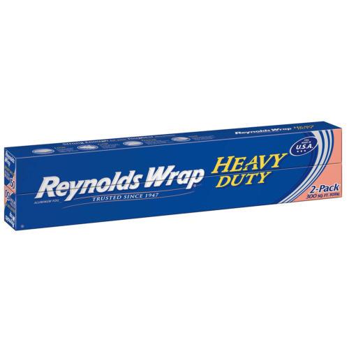 "Reynolds Wrap 18"" Heavy Duty Aluminum Foil, 150 sq. ft (2 ct.)"